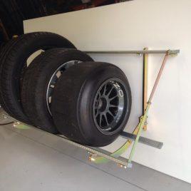 Motorsport Tyre Racks